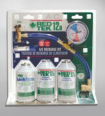 Red Tek Refrigerant Kits