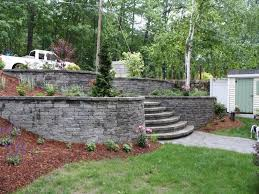 Small Picture Retaining Walls Designs 27 Backyard Retaining Wall Ideas And