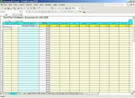 Personal Expense Tracking Spreadsheet Expense Tracker Template For Excel Monthly Household Budget