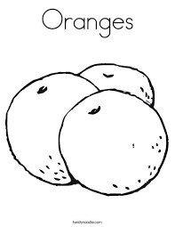 Small Picture Oranges Coloring Page Twisty Noodle