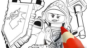 Small Picture Ultimate Monsters Colouring Page Activities NEXO KNIGHTS