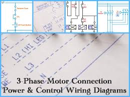 motor 3 phase wiring diagram motor wiring diagrams online three phase motor power control wiring diagrams