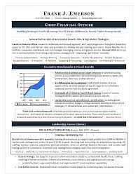 Cfo Resume Examples Awesome Best Finance Executive Resume Sample 48 Images About Best Finance