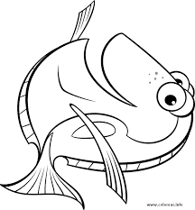 Dory Finding Nemo Coloring Pages Color Bros