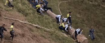 race log watch the japanese onbashira festivals insanely dangerous