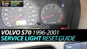 97 Volvo 850 Service Light Reset Volvo S70 Service Light Reset