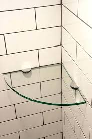 corner shelves for shower glass shelves shower door experts corner glass shelf glass corner shelves tile