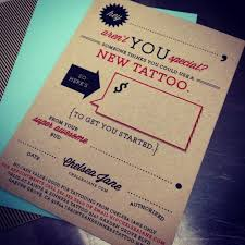 Pin by Polly Welch on gift guide | Tattoo shop decor, Tattoo shop, Gift  certificates