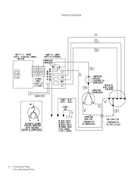 Dometic ac wiring schematic diagram for thermostat