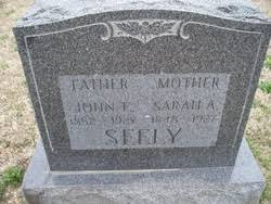 John Frederick Seely (1852-1927) - Find A Grave Memorial