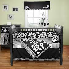 stunning black and white nursery theme archives baby bedding and white crib bedding sets