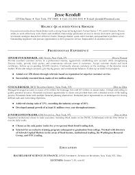 Stockbroker Resume Freight Broker Resume Objective Dadajius 1