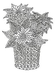 See more ideas about poinsettia cards, cards, poinsettia. Christmas Poinsettia Zentangle Coloring Page By Pamela Kennedy Tpt