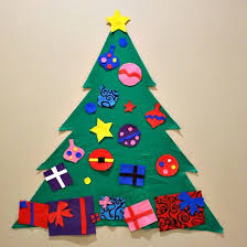 DIY <b>Felt Christmas Tree</b> - Princess Pinky Girl