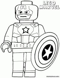 Captain America Coloring Pages Infinity War
