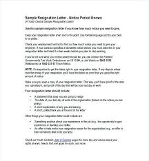 Two Weeks Notice Samples For Employer Leaving Job Letter – Template ...