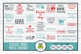 ✓ free for commercial use ✓ high quality images. Cheese Pun Mega Bundle Graphic By Funkyfrogcreativedesigns Creative Fabrica