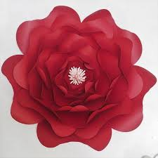 Paper Flower Video 2019 Diy Half Made Giant Artificial Paper Flowers For Wedding Event Decorations Backdrops Deco Baby Nursery Fashion Show Video Tutorials From