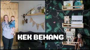 Baby Video Tour In De Babykamer Vol Jungle Behang Van Amanda