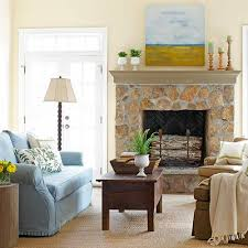 decorating above fireplace