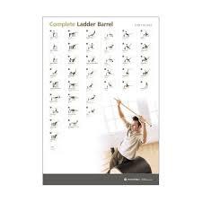 Pilates Wall Chart Wall Chart Complete Ladder Barrel