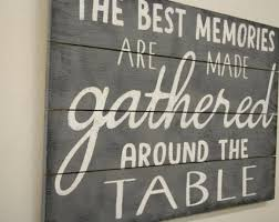 gather eat laugh pallet sign dining room decor kitchen rustic wood shabby chic gray home handmade
