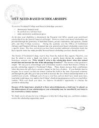 best photos of thank you letter financial aid   financial aid  college scholarship thank you letter samples