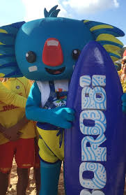 the best commonwealth games ideas  borobi the koala is the gold coast commonwealth games mascot