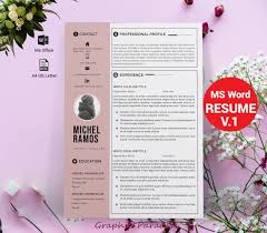 Resume Template Professional Microsoft Word Creative Resume Template Free Ideas Design Modern Resume Template Free Word Ideas