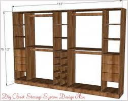 Diy Closet System Diy Closet Systems Plans
