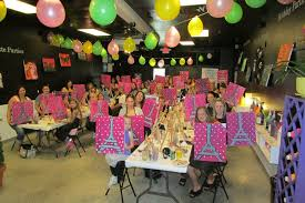 painting parties for kids kids cl paintlv design dine eat drink paint dine images