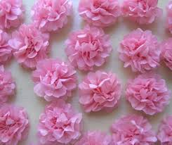 Tissue Paper Flower Diy Tiny Tissue Paper Flowers I Do It Yourself