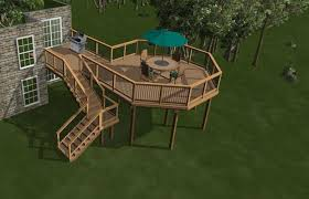 Backyard Deck Designs Plans New Ideas