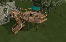 Backyard Deck Design Ideas Design Cool Design Ideas
