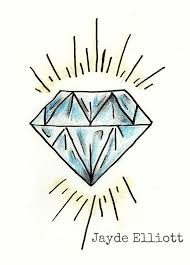Little Diamond Tattoo Design By Jaydeelliottartist On Deviantart