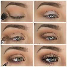description step by step simple pretty eyeshadow tutorial