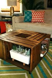 wooden crate side table medium size of dog crate side table coffee end tables crates cage how to make dazzling diy wood crate side table