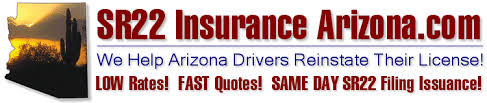 Sr22 Insurance Quotes Interesting SR48 Insurance Arizona Arizona SR48 Filing Insurance Quotes