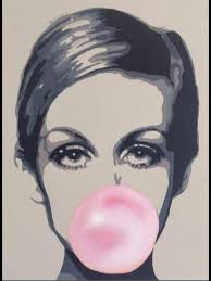 london pop art twiggy by artist sartton1 almost
