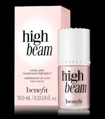 a satiny pink liquid face highlighter for a dewy glow