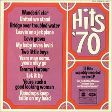1970 Chart Hits Various Pop Hits 70 Uk Vinyl Lp Album Lp Record