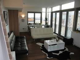 modern furniture small apartments. Small Apartment Furniture Idea With Black And White Leather Sleeper Sofas Also Modern Coffee Apartments I