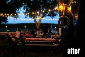 Decorating Your Backyard With Christmas Lights  Sippy Cup MomChristmas Lights In Backyard