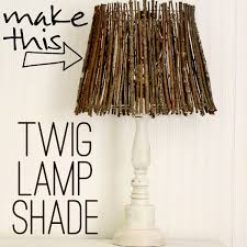 natural lamp shade diy twig 12
