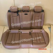audi a4 brown leather rear seat auto