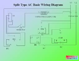 split type aircon wiring diagram split wiring diagrams