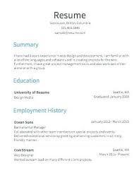 Free Resume Creater Resume Creator Free Free Free Resumes Builder Impressive Resume Builder Reddit