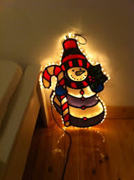 large light up snowman indoor or outdoor