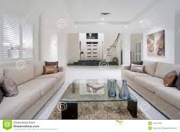 New Living Room Luxurious White New Living Room Royalty Free Stock Photos Image