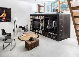 Creative space saving furniture Furniture Design Combobox All The Furniture In One Unit Interiorzinecom 50 Small Studio Apartment Design Ideas 2019 Modern Tiny